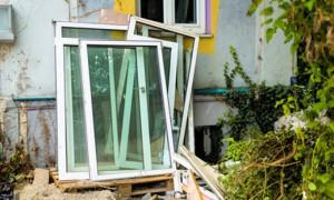 Alte Fenster entsorgen