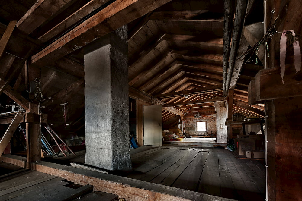 Dachboden im Altbau © A2LE, stock.adobe.com