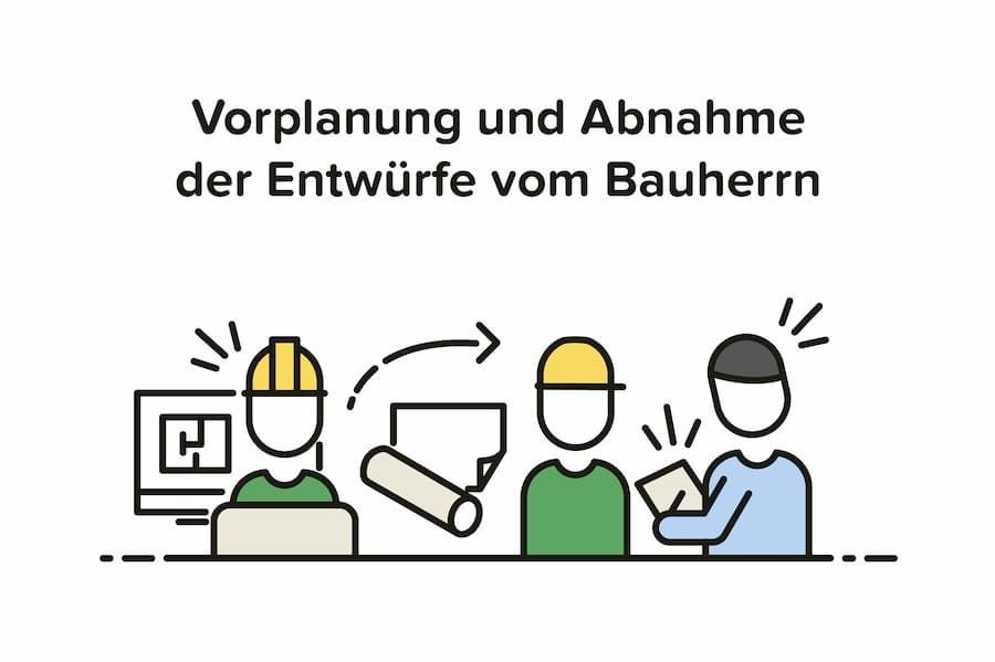 Architekt Aufgaben: Vorplanung und Entwürfe