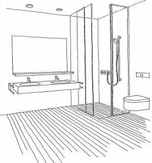 Das badezimmer barrierefrei umbauen for Badezimmer clipart