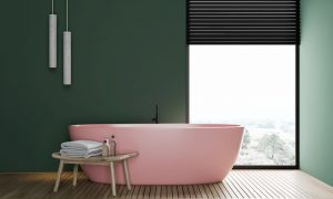 Farben für das Badezimmer