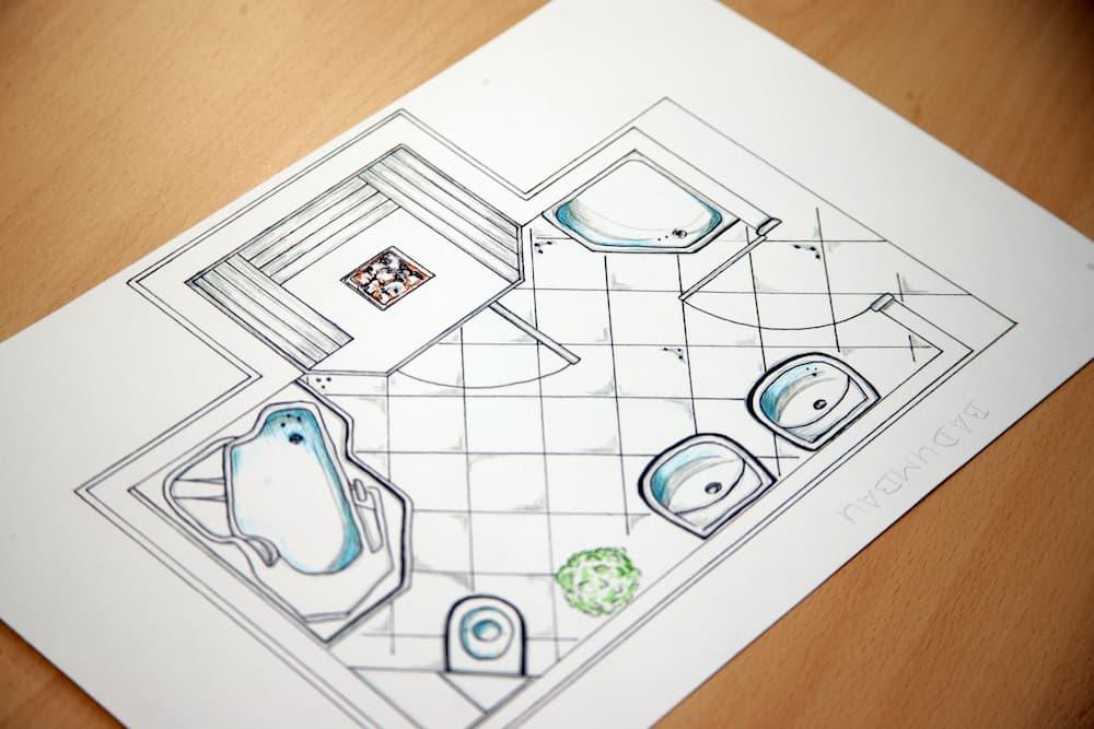 Badezimmer Planung © Jörg Lantelme, stock.adobe.com