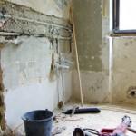 Sanierung Innenwandflächen