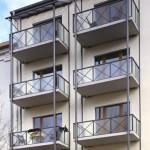 Balkon Anbau mit vier Stützen © Schüco International KG