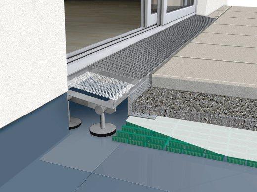 Balkon barrierefrei © GUTJAHR Systemtechnik GmbH
