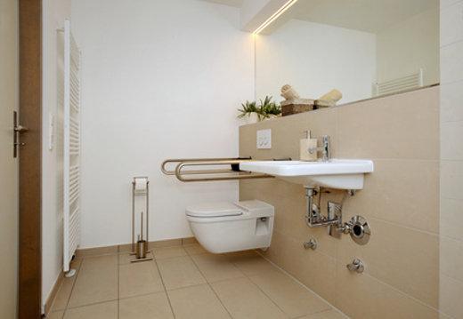 das barrierefreie badezimmer