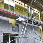 Gerüste Fassadendämmung