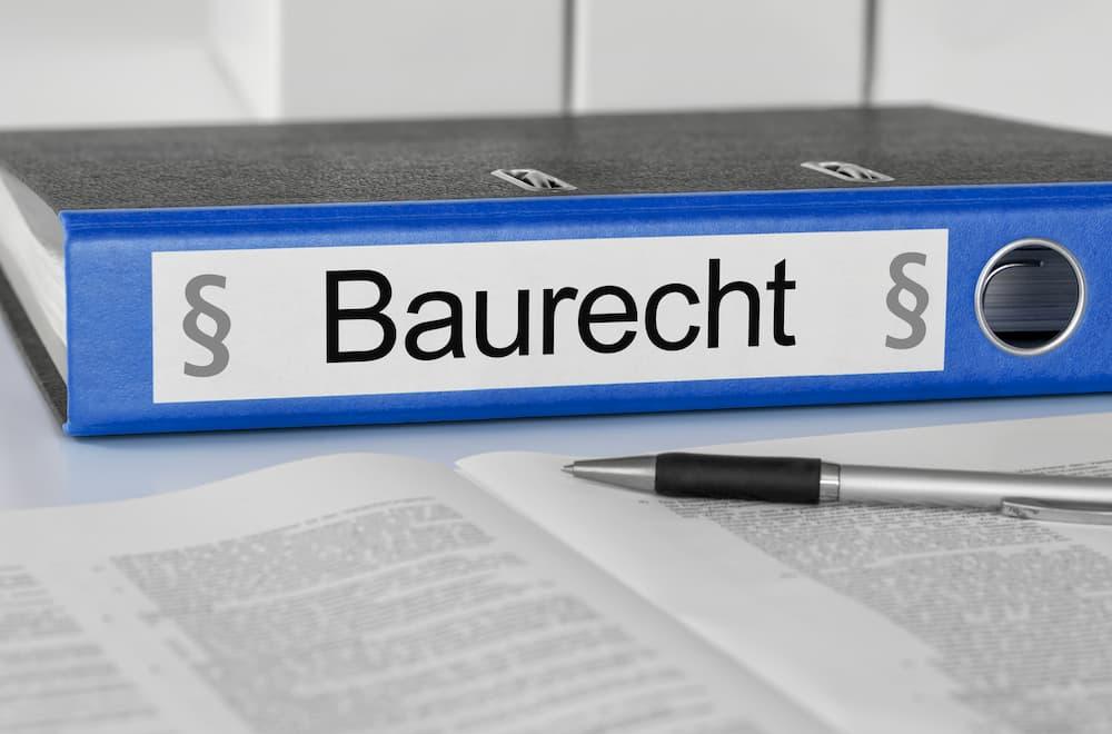 Das Baurecht muss beachtet werden © Zerbor, stock.adobe.com