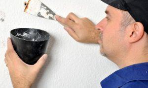 Bohrlöcher reparieren