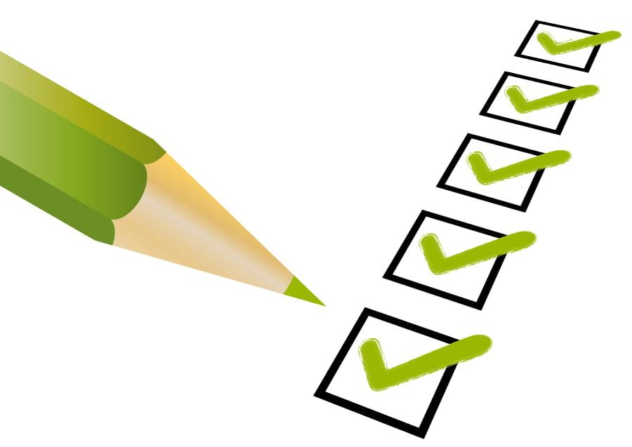 Fenster Checkliste