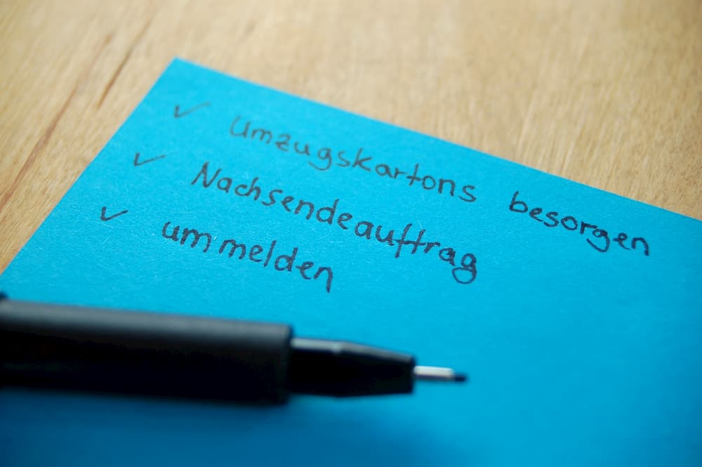 Checkliste Umzug © thingamajiggs, stock.adobe.com