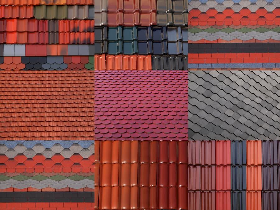 Dacheindeckung Arten © Pixelmixel, stock.adobe.com