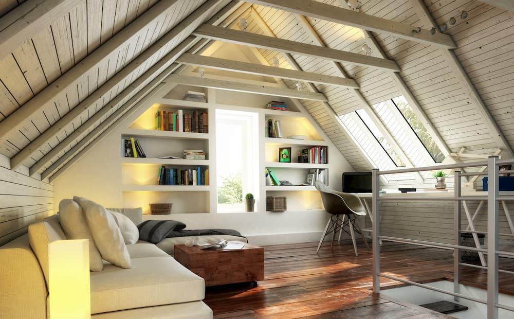 Dachgeschoss wohnlich ausgebaut © 4th Life Photography, stock.adobe.com