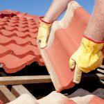 Dachziegel oder Dachsteine