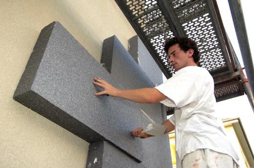 Fassadendämmung mit EPS © IVH