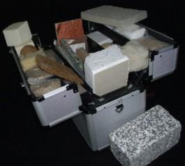 Dämmstoffkoffer © IpeG-Institut
