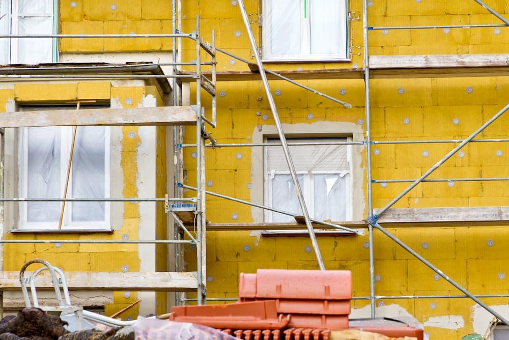 Fassadendämmung © Jürgen Flächle, stock.adobe.com