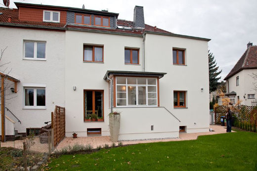 Verputzte Fassade © Bauherren-Schutzbund e.V.