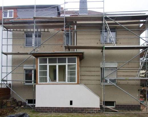 Doppelhaushälfte vor Modernisierung © Bauherren-Schutzbund e.V.
