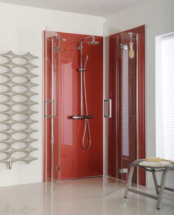 Fabulous Wandverkleidung aus Acrylglas bzw. Plexiglas im Badezimmer FQ18