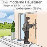 Haustüren und Einbruchschutz