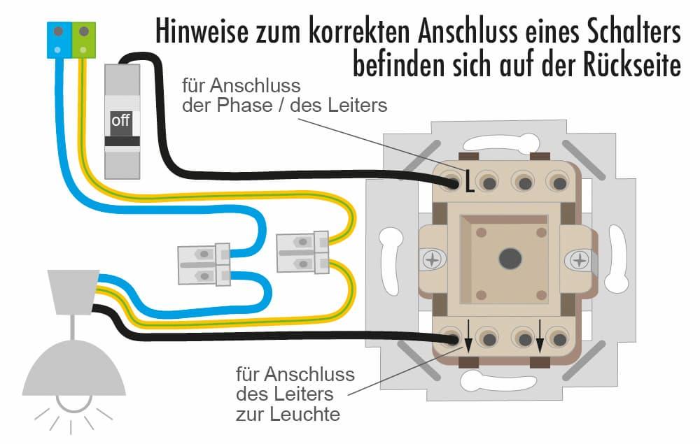 Elektroinstallation Schalter: Hinweise zum korrekten Anschluss