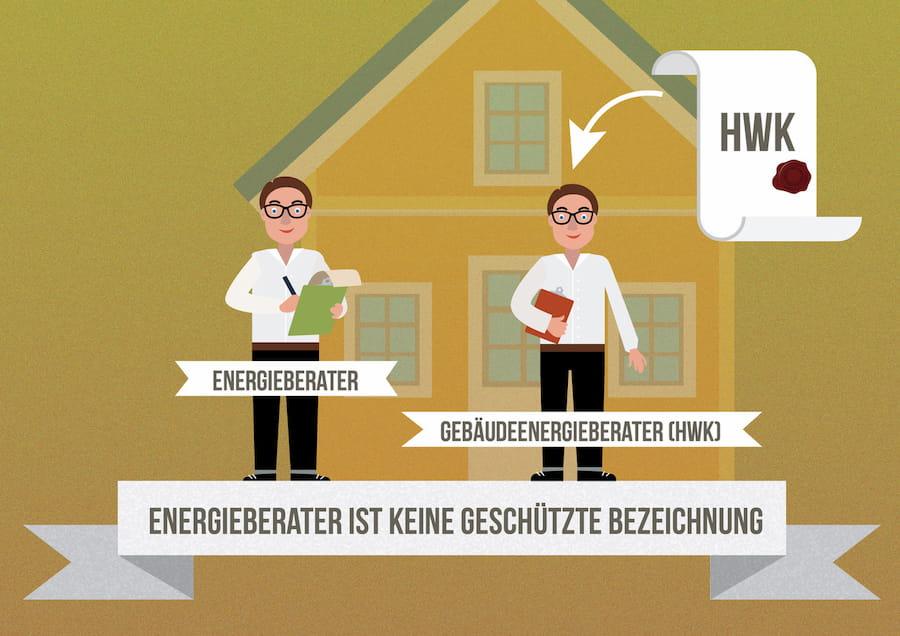 Vorsicht: Energieberater ist kein geschützter Begriff