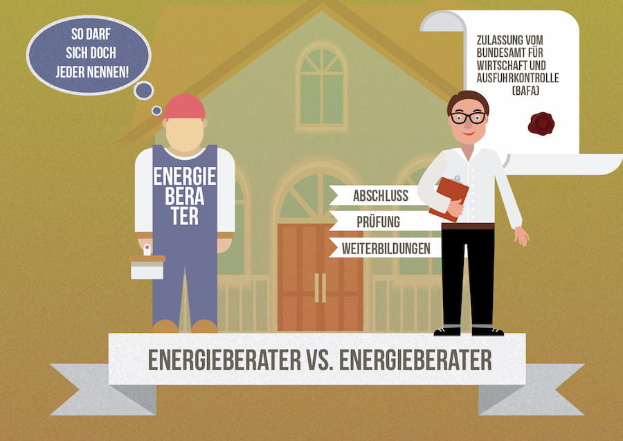 Energieberater Unterscheidungsmerkmale