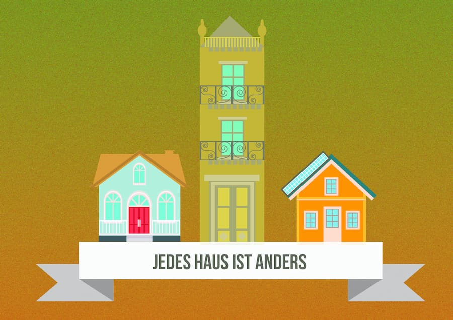Energiebratung:  Jedes Haus ist anders