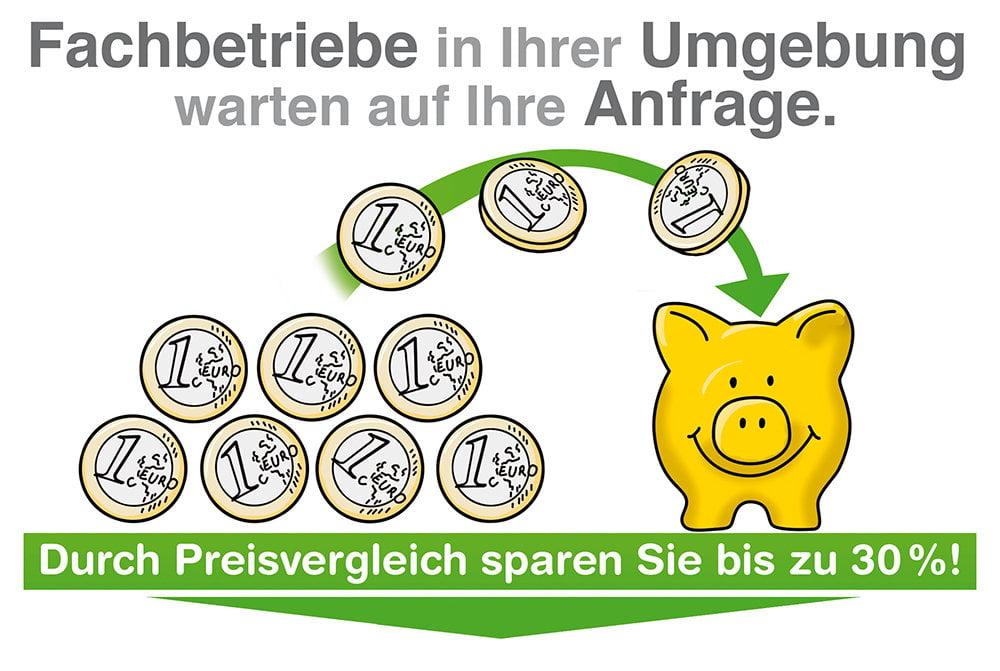 Preisvergleich Fachbetriebe: Geld sparen