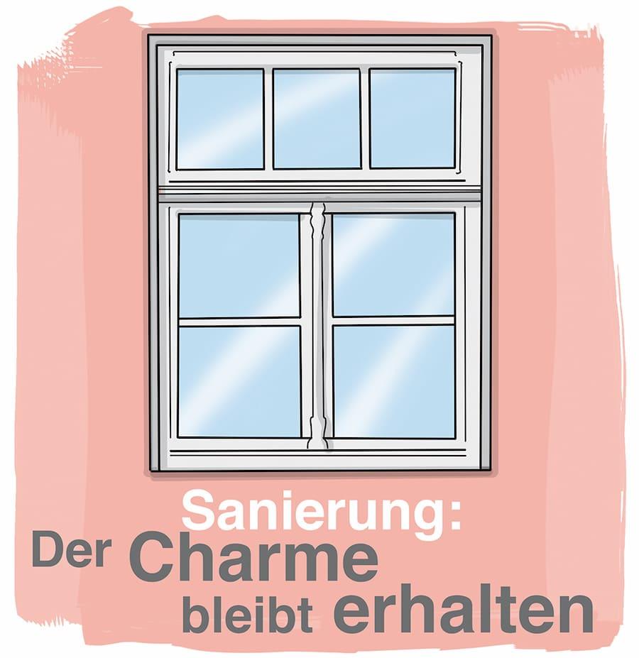 Fenster Sanierung: Der Charme bleibt erhalten