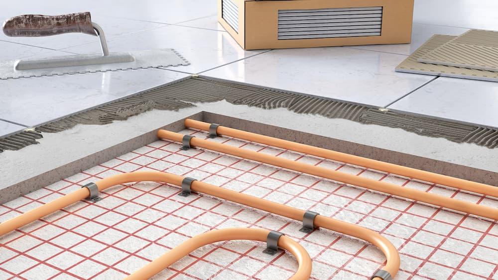 Aufbau einer Fußbodenheizung © sveta, stock.adobe.com