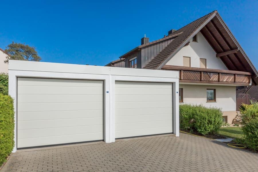 Garage nach Modernisierung © ZAPF