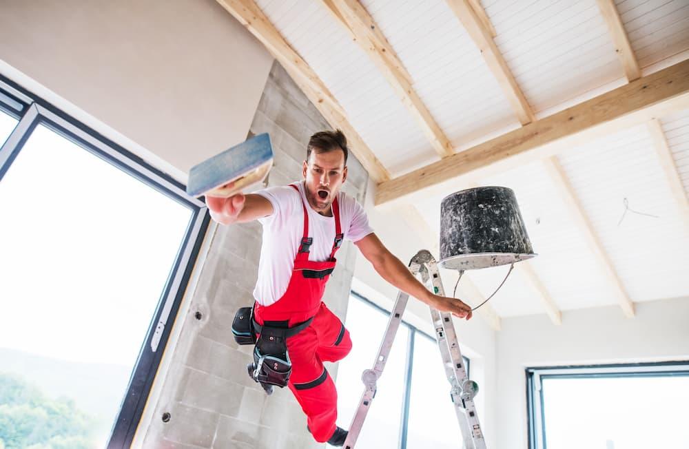 Handwerker: Unfall auf der Baustelle © Halfpoint, stock.adobe.com