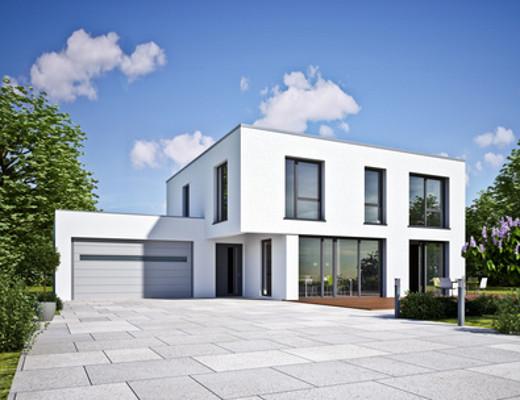 Modernes Gebäude mit Flachdach © kb3, fotolia.com
