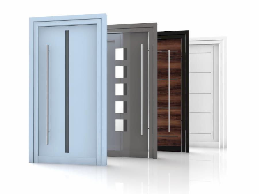 Top Haustürmaterialien – Vielfalt in Design und Funktion - Holz, Alu KG97