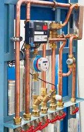 Energiefresser Ungedammte Heizungsleitungen