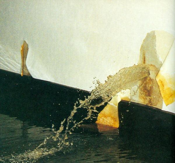Wasser bricht durch die Wand © Heinz Kerp