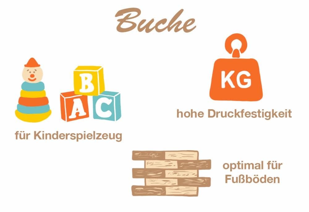 Holzart Buche: Eigenschaften und Verwendung