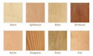 Holzarten – das richtige Holz finden