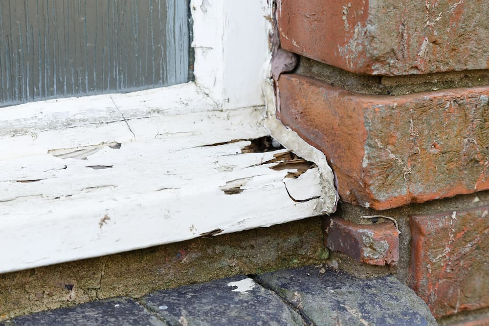 Schäden am Holzfenster © Paul Maguire, stock.adobe.com