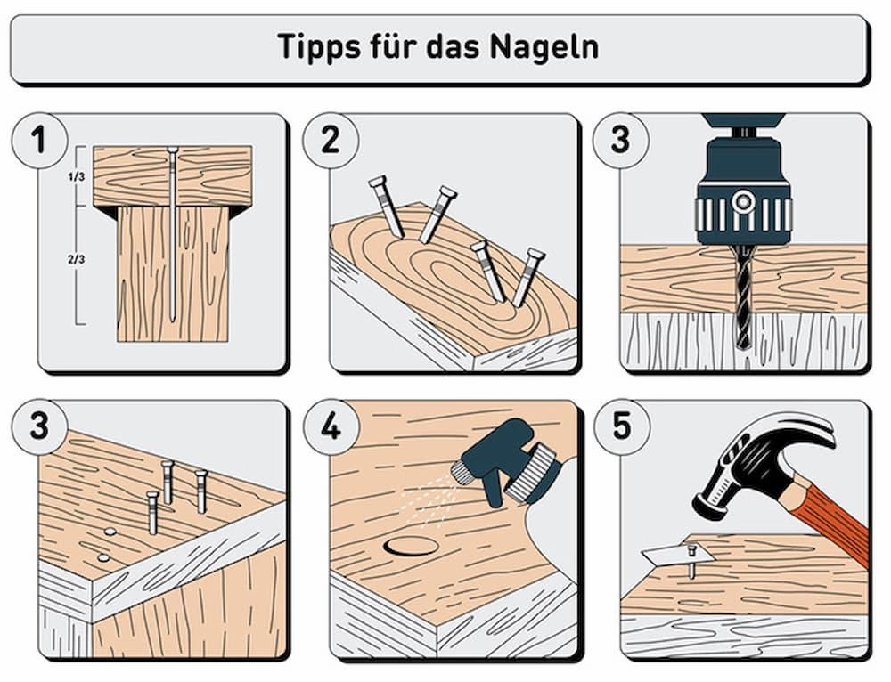 5 hilfreiche Tipps für das Nageln