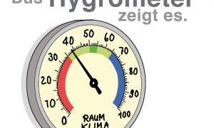 Optimale Luftfeuchtigkeit im Keller