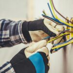 Kabel oder Leitungen ins Leerrohr einziehen