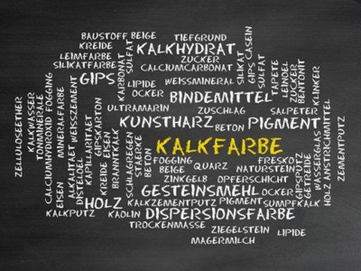Kalkfarbe © CrazyCloud, fotolia.com