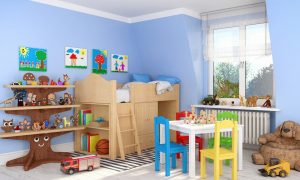 Holzlasur und Lack für Kindermöbel