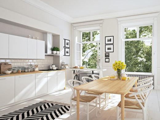Küche im skandinavischem Stil © 2mmedia, fotolia.com
