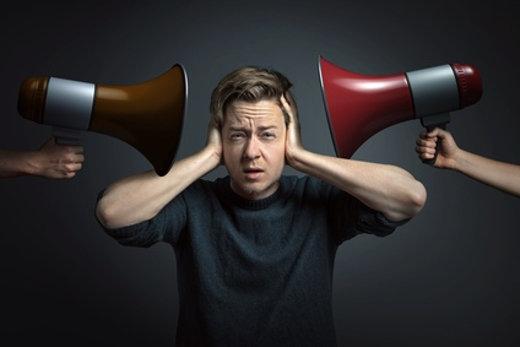 Zu viel Lärm verursacht Stress © lassedesignen, fotolia.com