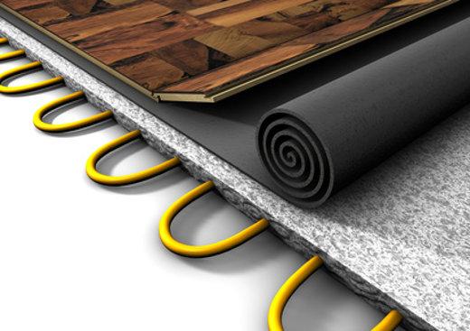 Fußboden Bad Ausgleichen ~ Der richtige unterbau für den bodenbelag
