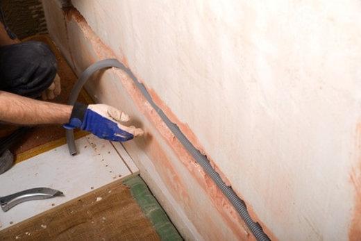 Stromleitungen Verlegen Sanier